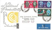 1962 National Productivity Year, Illustrated FDC, Leicester cds.