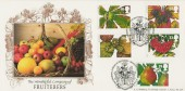 1993 Autumn, Bradbury LFDC No.117 Official FDC, Worshipful Company of Fruiterers Brogdale Faversham H/S.