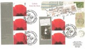 2007, Lest We Forget Smilers Letter for the Front, Norvic Philatelics FDC, Lest We Forget Passchendaele The Cenotaph London SW1 H/S.