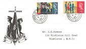 1965, Salvation Army, Illustrated FDC, House of Lords SW1 cds.