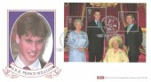 2000 Queen Mother 100th Birthday, British Heritage Collectiions (BHC) Official FDC HM Queen Elizabeth The Queen Mother Windsor H/S.