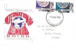 1965, International Telecommunications, Connoisseur FDC, London WC FDI.