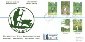 1983 British Gardens, Registered Stewart Petty FDC, Rake Liss Hants. cds.