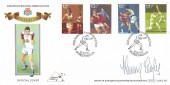 1980 Sporting Anniversaries, Benham BOCS SP3 Official Amateur Boxing Association FDC, 100th Anniversary Amateur Boxing Assn. Wembley Middx. H/S, Signed by Henry Cooper.