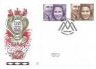 1973 Royal Wedding on Benham Woodcut FDI Windsor H/S FDC