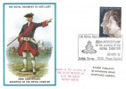 1972 Silver Wedding, Royal Regiment of Artillery Official FDC, 3p Stamp only, The Royal Regiment of Artillery 250th Anniversary of the granting of the Royal Charter British Forces 1340 Postal Service H/S.
