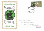1970 General Anniversaries, Mayflower 70 Official FDC, 1/6d Only, Plymouth Devon FDI.