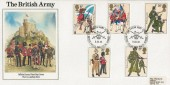 1983, British Army, Army Official FDC, The British Army British Forces 1983 Postal Service H/S, Signed on the back by 5 Generals of the Military Board.