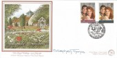 1986, Royal Wedding, Greenberg & Porter Official FDC, Prince Andrew & Sarah Ferguson Congratulations the Village of Dummer Basingstoke Hampshire H/S, Signed by Stephen Thomas Artist.