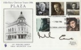 1986 60 Years of the Plaza signed by Michael Caine
