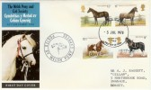 1978 Shire Horse Society Aberystwyth FDI on Welsh Pony & Cobb Society FDC