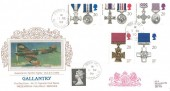 1990 Gallantry, Presentation Philatelic Services Cigarette Series No.27, Biggin Hill Westerham Kent cds.