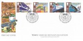 1988 Transport & Communications, Transport & General Workers Union Covercraft Official FDC, TGWU Celebrates Historic Transport Stamps London SW1 H/S.