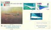 1969 Concorde Filton FDI British Aircraft Corporation Official FDC, Filton Bristol FDI