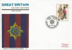 1983, British Army, Stamp Publicity Military Uniforms FDC, 28p Irish Guards Stamp Only, Irish Guards British Forces 1900 Postal Service H/S
