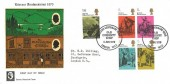1970 Literary Anniversaries, Old Curiosity Shop WC2 Official FDC, Dickens Centenary Year Old Curiosity Shop London WC2 H/S