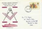 1978 Christmas 2nd Grand Masonic Cruise from the UK FDC