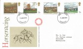 1979 Horse Racing, Post Office FDC, Liverpool FDI