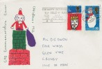 1966 Christmas, GPO FDC, For Happy Retirement Isle of Man Douglas Slogan
