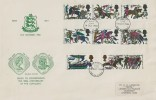 1966 Battle of Hastings, Guernsey Illustrated FDC, Guernsey FDI