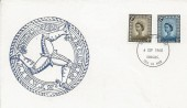 1968, 4d & 5d Isle of Man Regionals, Treskelion Illustrated FDC, Douglas Isle of Man FDI