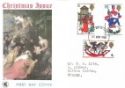 1968 Christmas, Wessex FDC, London WC FDI