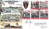 1994 D Day, Forces Official FDC, Gold Beach BF 2417 PS H/S, Signed by John Major, UK Prime Minster 1992 - 1997