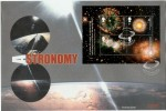 2002 Astronomy Miniature Sheet Westminster Official FDC