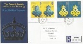 1990 Queen's Award to Industry, Registered Royal Mail FDC, Windsor Castle Windsor Berks. cds