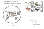 1966 British Birds, Holmes Tolley FDC, London WC FDI