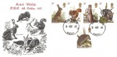1977 British Wildlife, D P Hathaway FDC, Haslemere Surrey cds