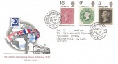 1970 Philympia, London International Stamp Exhibition 1970 Official FDC, House of Commons SW1 cds.