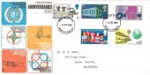 1969 Notable Anniversaries, Trident FDC, Hounslow Middlesex FDI.