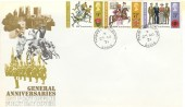 1971 General Anniversaries, Post Office FDC, Thames View Barking Essex cds