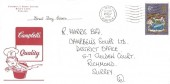 1970 Christmas, Campbell's Soup Limited FDC, Diss Norfolk Cancel.