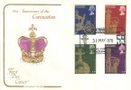 1978, 25th Anniversary of Coronation, Cotswold FDC, Union of Post Office Workers Annual Conference Blackpool H/S