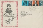 1966 Robert Burns, Illustrated FDC, Chichester Sussex cds