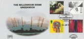 1999, Inventors' Tale, Havering 150 Club No.1 Official FDC, The Millennium Dome Greenwich London H/S