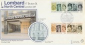 1986 H M The Queen's 60th Birthday on Official G&P FDC