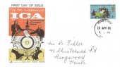 1970 General Anniversaries, Gemini 75th Anniversary of the International Co-operative Alliance FDC, Ringwood Hants. cds