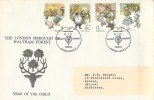 1979 Year of the Child, The London Borough of Waltham Forest Official FDC, 40th Anniversary Yardley Primary School Chingford London E4 H/S