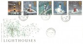 1998 Lighthouses, Royal Mail FDC, Lighthouse Fleetwood Lancs. cds