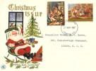 1967 Christmas, Wessex FDC, London EC FDI
