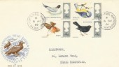 1966 British Birds, Philart FDC, The Heights Hemel Hempstead cds