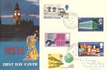 1969 Notable Anniversaries, Connoisseur FDC, Chandler's Ford Eastleigh Hants. cds