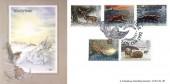 1992 Wintertime, Bradbury LFDC 102 Official FDC, Wintertime Owlsmoor Camberley H/S