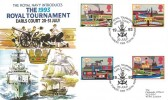 1993 Inland Waterways, Royal Navy, The 1993 Royal Tournament Official FDC, The Royal Tournament Earls Court British Forces 2385 Postal Service H/S