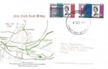 1964, Forth Road Bridge, Newlands Road Philatelic Society FDC, London WC FDI
