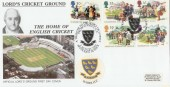 1994 Summertime Sussex County Cricket Club Official FDC