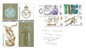 1968 British Anniversaries, GPO FDC, Remember to Use the Postcode Orpington Kent Slogan